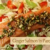 Ginger Salmon in Parchment