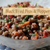 Black Eyed Peas and Peppers Salad
