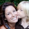 Alecia with son