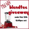 Red Hot Blendtec Giveaway!