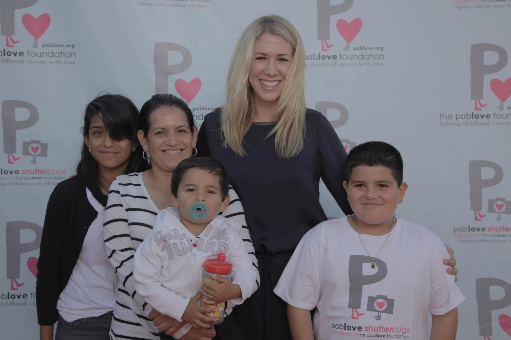JoAnn with Pablove family