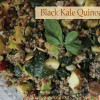 Quinoa Salad with Black Kale and Pomegranate Seeds