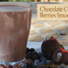 Chocolate Covered Berries Smoothie