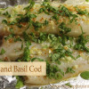 Garlic and Basil Cod
