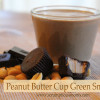Chocolate Peanut Butter Cup Green Smoothie