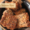 Honey Sesame Bars