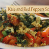 Kale and Peppers Scramble