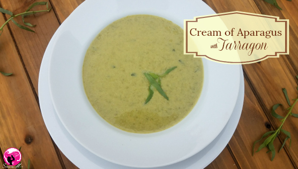 Cream of Asparagus with Tarragon