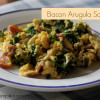 Bacon Arugula Scramble