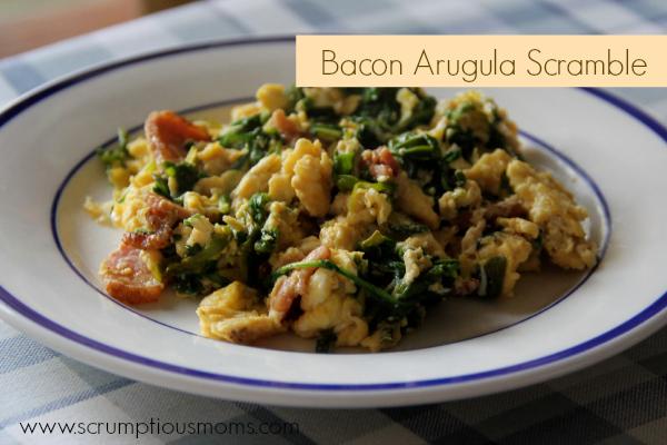 BaconArugulaScramble