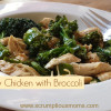 Savory Chicken with Broccoli