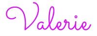 Valerie Signature