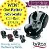 Britax Advocate Car Seat Giveaway