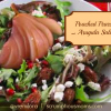 Poached Pear and Arugula Salad