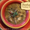 Thanksgiving Turkey Soup