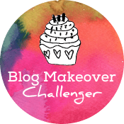 Blog Makeover Challenge Badge