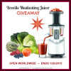 Juicing Into the New Year Breville Juicer Giveaway!