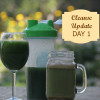 I wasn't prepared for this!  Cleanse Update – Day 1
