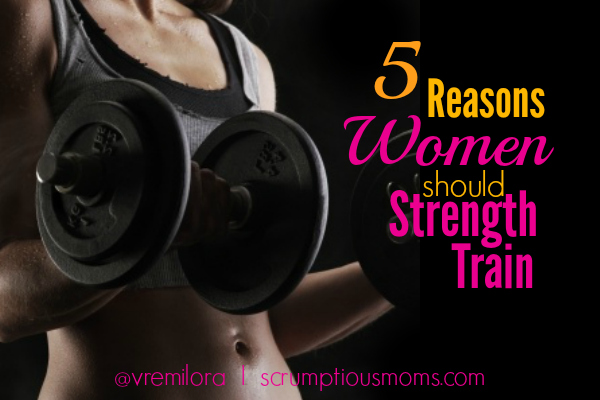 5 Reasons women should strength train title Image