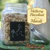 Mulberry Hazelnut Gluten Free Muesli Square title image
