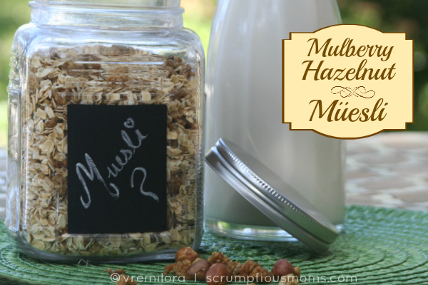 Mulberry Hazelnut Gluten Free Muesli title image