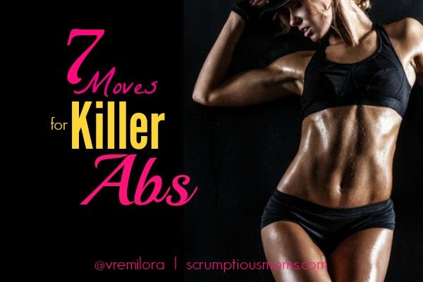 7 Move for Killer Abs  Title Image