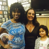 Angela Alexander with Valerie Remy-Milora and her youngest daughter