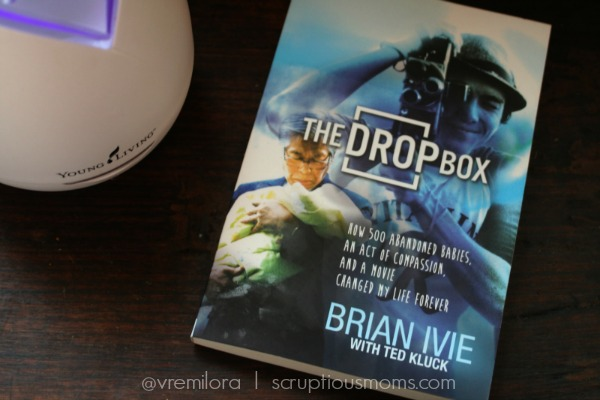 The DropBox Book cover on  nightstand