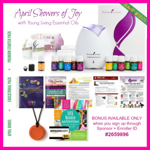 Young Living April Bonus Package