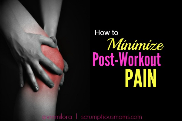 How to minimize post workout pain title image