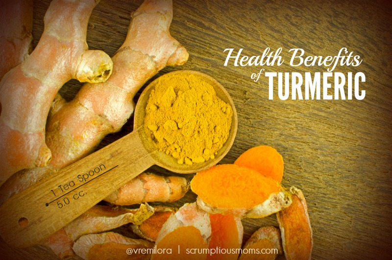 Health Benefits of turmeric title  image