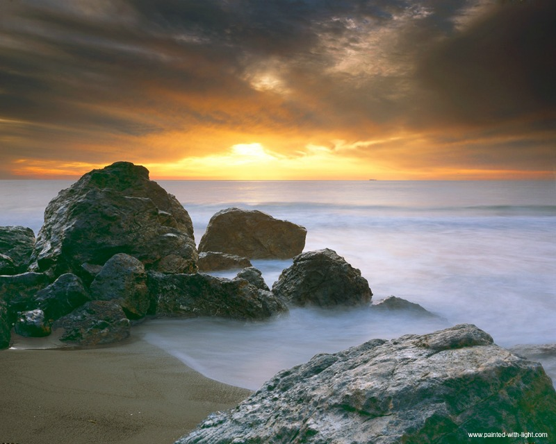 Point Dume at Sunset