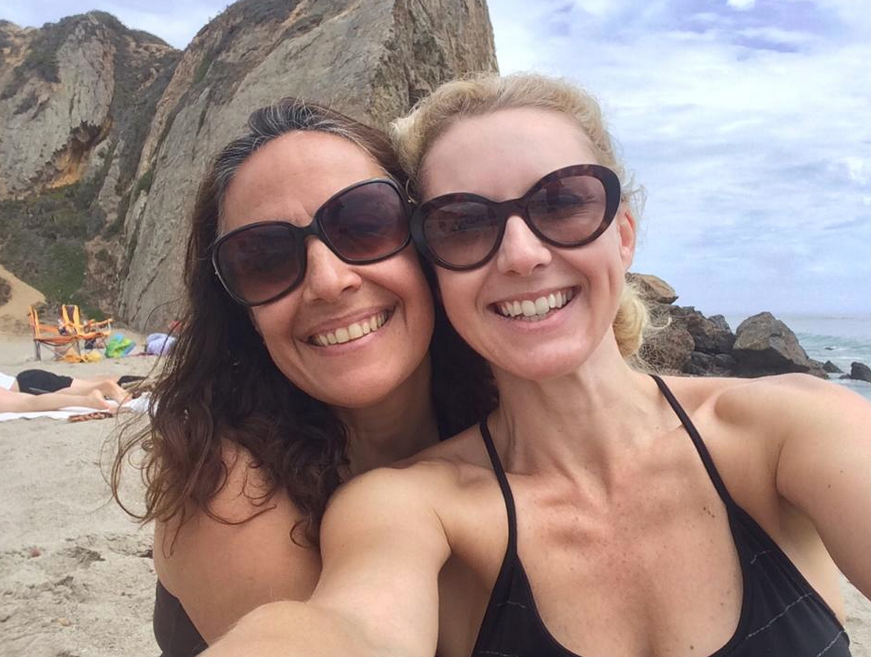 Friends at Point Dume Malibu