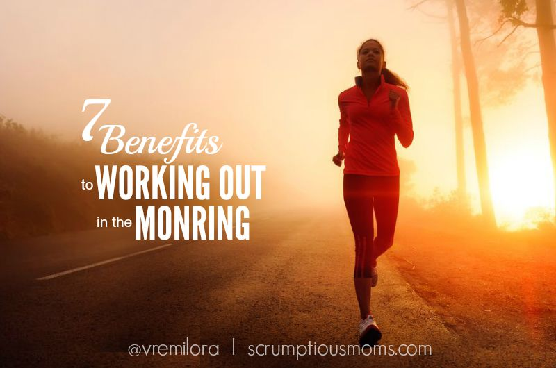 7 Benefits to Working Out in the morning title image