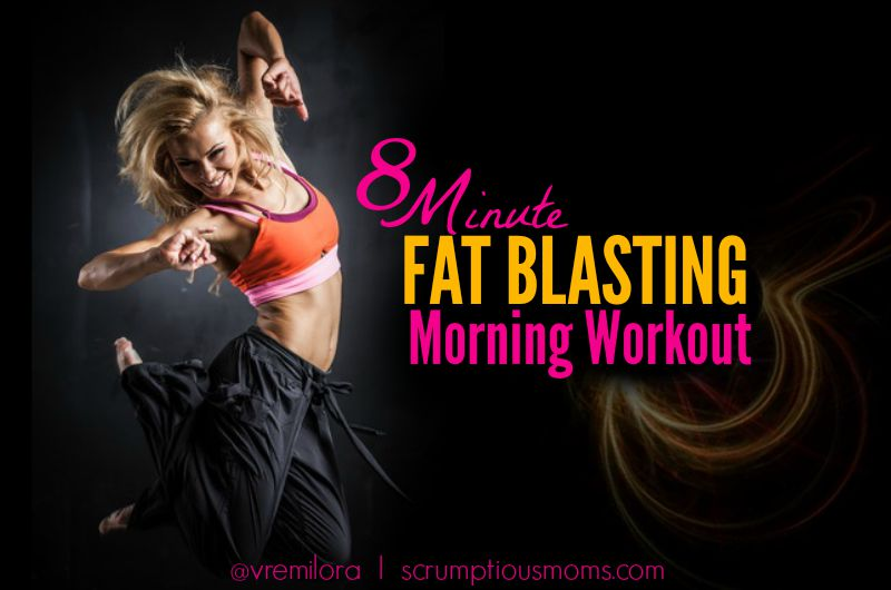 8 minute fat blasting workout title image