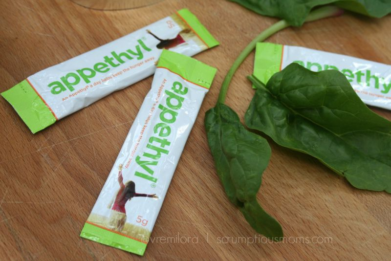 Appethyl packets CU with spinach
