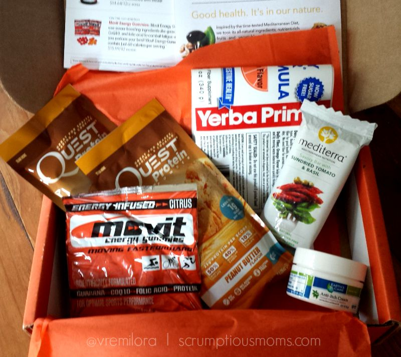 Bulu Box full of healthy samples