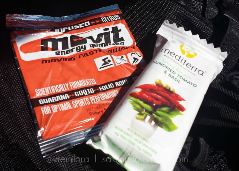 Mvoi energy gummies and Mediterra sundred tomato snack bar