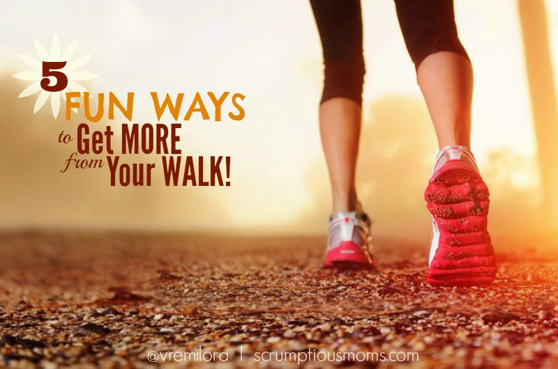 5 fun ways to get more from your walk title image