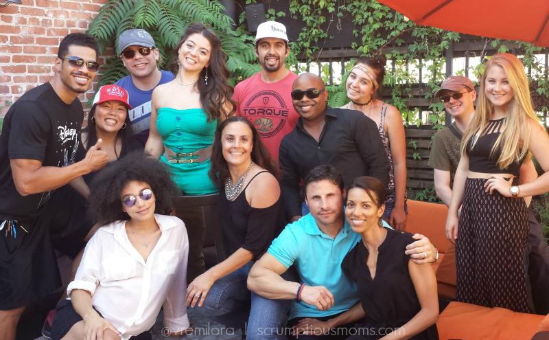 Jen Bricker and friends
