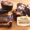 Homemade Healthy Peanut Butter Cups Title Image