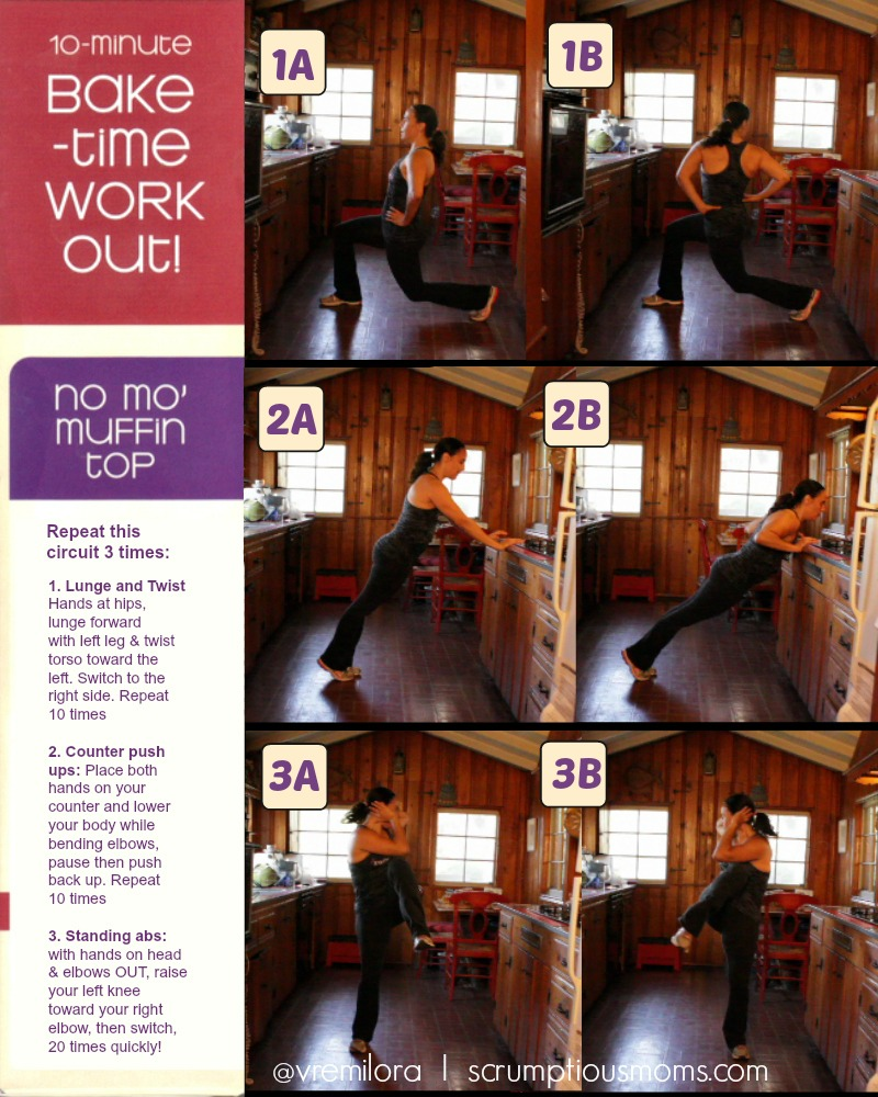 Fit Body Bakery No Mo Muffin workout with photos
