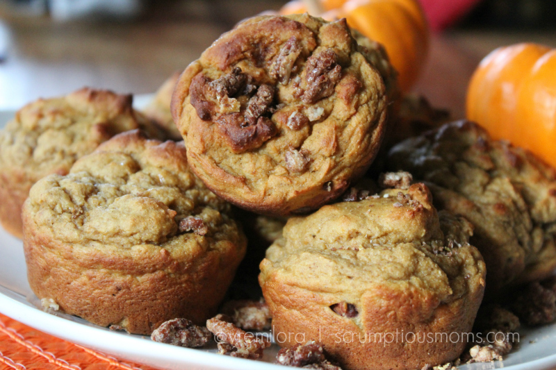 Spiced Motivator Muffins on plate