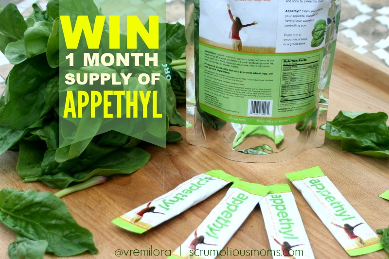 Appethyl Giveaway Graphic