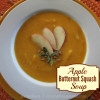 apple butternut squash soup square title image