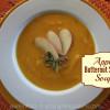 Apple Butternut Squash soup Title Image