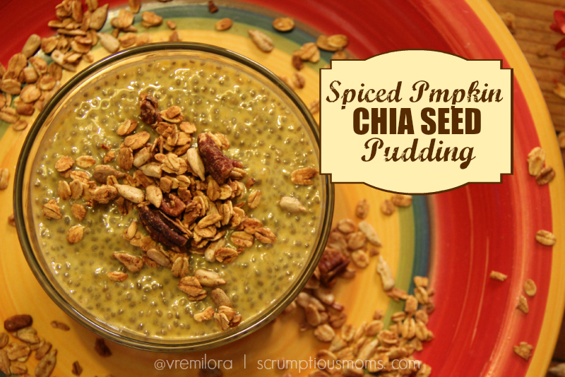 Spiced Pumpkin Chia seed pudding title image