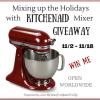 KitchenAid Giveaway Title Image