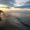 Sunrise on the beach of Koh Lanta