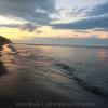 Sunrise on the beach of Koh Lanta